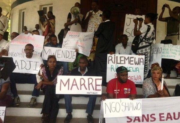 Comores: La Manifestation du 29 Octobre à Moroni