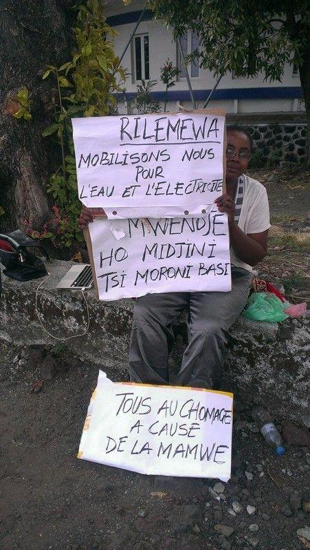 Comores: Il nous faut de l'électricité et de partout