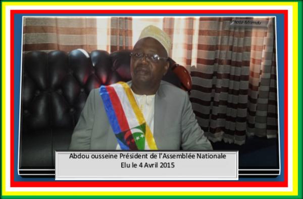 Dr. Abdou Ousseine élu Président de l'Assemblée Nationale