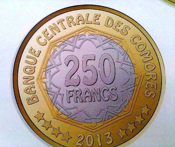 Comores: Nouvel an, nouvelles pièces de monnaie